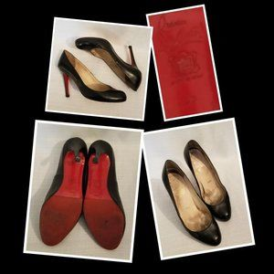 Christian Louboutin Simple Leather Red Sole Pump 8